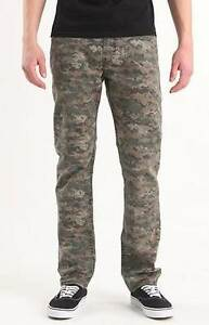BULLHEAD GRAVELS  SLIM DIGI CAMO GREEN PANTS JEANS MENS GUYS NEW $55