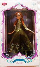 "Disney Store Limited Edition 17"" Frozen Anna Dolls LE5000"