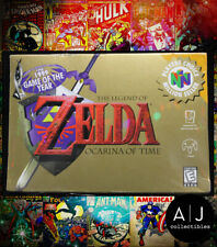 Legend of Zelda: Ocarina of Time 98-99 GOTY Nintendo N64 FACTORY SEALED!