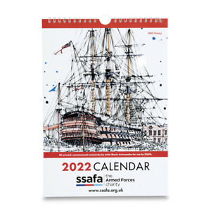 2022 Calendar SSAFA the Armed Forces charity. Sherin Aminossehe