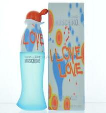 Moschino I Love Love For Women Eau De Toilette  SPRAY 3.3 OZ 100 Ml