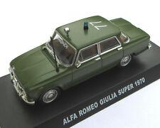 Alfa Roméo Giulia super carabinieri 1970 - édition presse De Agostini 1/43