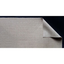 Belle Arti : 696 Fine Linen : 361gsm : 2.1m Wide : Per Metre : Clear Primed : Si