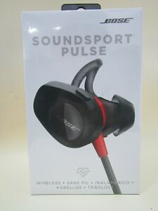 Bose SoundSport Pulse Neckband Wireless Headphones - Red Brand New