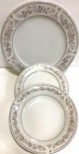 China Dinnerware 3 Pc.Place Setting Service for 4 ( Dinner Salad Plate & Bowl)
