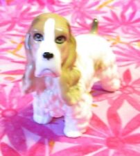 Vintage Ardalt Japan Ceramic Figurine Dog Cocker Spaniel