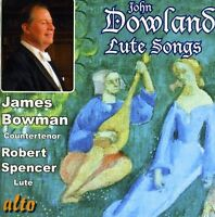 James Bowman, J. Dowland - Lute Songs & More [New CD]