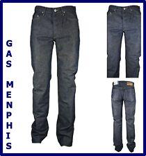 jeans gas uomo elasticizzato menphis svasati a gamba dritta vita alta 46 w31 w32