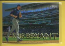 Kris Bryant 2016 Topps Chrome Perspectives Refractor Card PC-7 Chicago Cubs