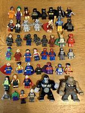 Lego Marvel Dc Super Heroes Colección Raro Minifiguras X 45 el Flash Iron Man