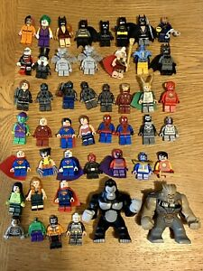 Lego Marvel DC Super Heroes Collection Rare Minifigures X 45 The Flash Iron Man