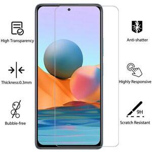 Schutzglas Glasfolie für Xiaomi Redmi Note 10 Pro Display Schutz Panzerfolie 9H