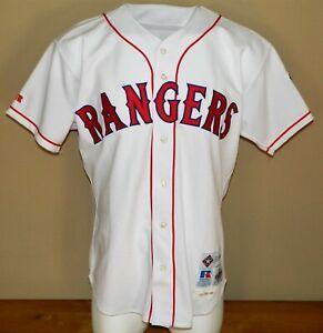 1998 Warren Newson Game Worn Texas Rangers Home Jersey #21 - Size 46