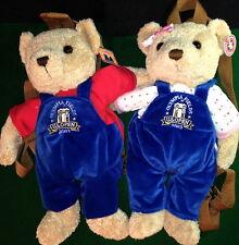 Herrington Teddy Bear 2003 U.S. OPEN GOLF Olympia Fields PLUSH 2 BACKPACK BEARS