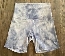 Lululemon Diamond Dye Align Shorts Size 4 Purple White
