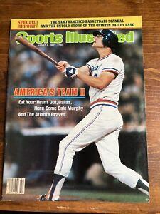 1982 Dale Murphy Atlanta Braves Sports Illustrated Label Removed
