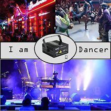 12 Patterns Mini Stage RGB Laser Light Disco DJ Lighting for Parties Decoration