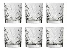 RCR Laurus Crystal Whisky Glasses Set of 6 (33cl) Crystal Whisky Wine Glasses