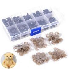 Black Plastic Safety Eyes Soft Cute Toy Teddy Bear Craft Animal Doll Washers