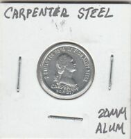 (T) Token - Carpenter Steel - 20 MM Aluminum