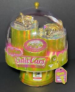 Shopkins Cutie Cars 24 Carat Golden Collection SDCC 2018 Limited Edition Toy NIB