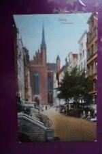 Danzig, Frauengasse um 1900