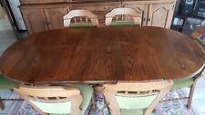 Table de salle à manger en chêne