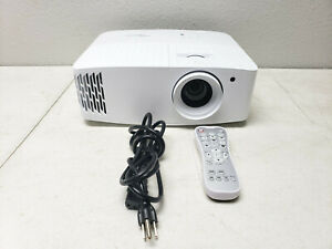 Optoma UHD30 4K UHD Home Theater/Gaming Projector 1080p - 67 Hours