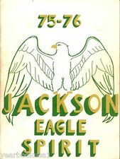 Jackson Middle School Grand Prairie Texas 1976 Yearbook Annual