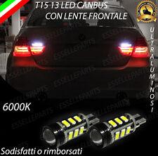 LAMPADE RETROMARCIA 13 LED T15 W16W CANBUS BMW SERIE 3 E90 E91 6000K NO ERROR