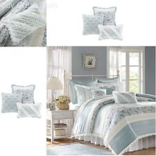 Duvet Cover Bedding Set 9 Piece Queen Size Comforter & Shams Soft Luxury Sheets