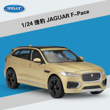 Welly 1:24 Jaguar F-Pace Diecast Model Car New in box Gold