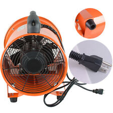 Ventilation 10 Inch Fan Blower Gas Paint Garage Auto Shop Home Fan Blow Dust