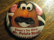 Disney Toy Story Pocket Mirror - Repurposed Mr. Potato Head Magazine Ad Mirror