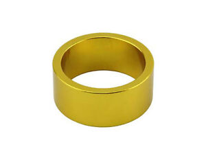 """ORIGINAL Bicycle alloy 1-1/8"""" (28.6mm) Threadless Headset Spacer 15mm cycling"""