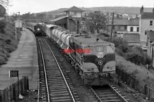 PHOTO  CIE 181 CLASS DIESEL LOCOMOTIVE NO. 186 WEED CONTROL TRAIN DEPARTING WHIT