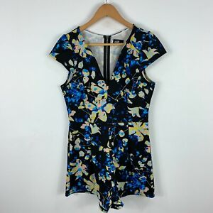 Dotti Womens Playsuit Romper Size 10 Multicoloured Floral Sleeveless 53.30