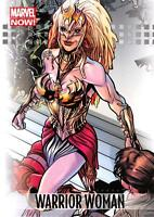 WARRIOR WOMAN / 2013 Marvel Now! (Upper Deck 2014) BASE Trading Card #99
