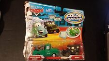 DISNEY PIXAR CARS COLOR COLOUR CHANGERS BRAND NEW MATER SARGE 2 PACK NS SAVE 5%