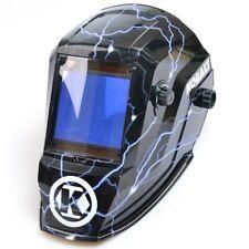 Kobalt Auto Darkening Variable Shade 5-13 Welding Helmet Large View Hood