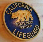 Tiki Bar California Lifeguard 3D routed wood Island Beach pool Sign Custom