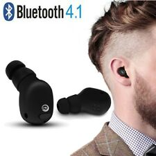 Wirless Bluetooth Earphone Headset Handsfree Noise Cancelling For iPhone HTC LG