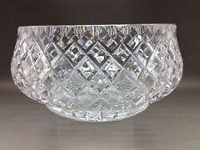 LOVELY medie Tagliare Ciotola in vetro-NO Makers Mark - 15,5 cm di diametro