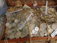 ESTATE LOT OLD COINS, GOLD, .999 SILVER,JEWELS,CURRENCY,STAMPS, PCGS, PROOFS