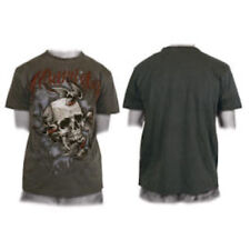 Miami Ink Swallows and Skull T Shirt - Size Medium - New