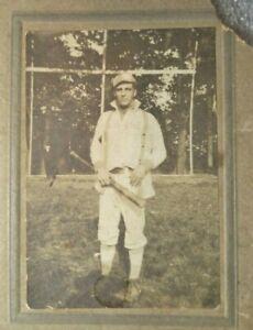 rare original antique photograph NY Yankees player Earle Gardner