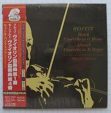 Jascha Heifetz-Rottura: Violin Concerto No. 1 JAPAN MINI LP CD NUOVO! SEALED