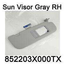 New Genuine Sun Visor RH Gray Oem 852203X000TX For Hyundai Elantra MD 11-15