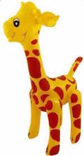 * INFLATABLE GIRAFFE 59CM SAFARI ANIMAL ZOO PARTY FANCY DRESS PROP NEW **