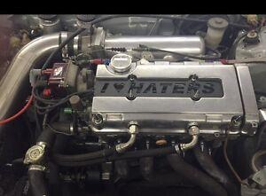 Honda B16/b18 DOHC VTEC B-Series Custom (I LOVE HATERS) Spark Plug Cover.